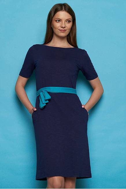 Slub Jersey  Dress NUBIA navy