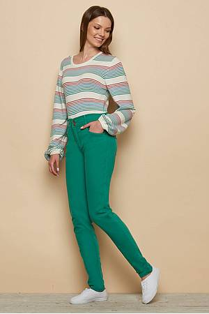 Stretch Denim Skinny Jeans MAHLIA laguna