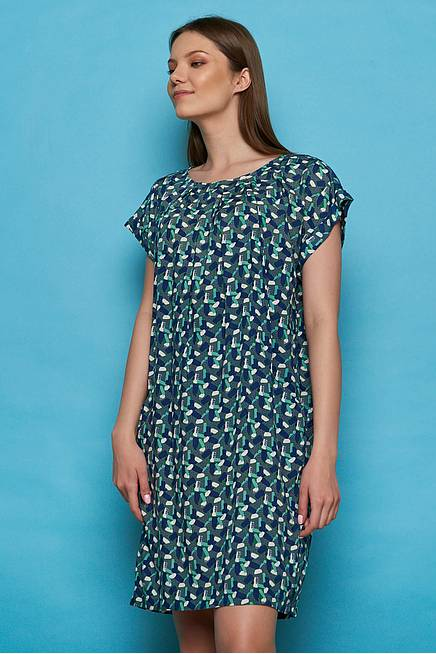 EcoVero™ Viscose Dress BAHATI green candy
