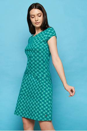 Jersey Dress NAHILA green ball