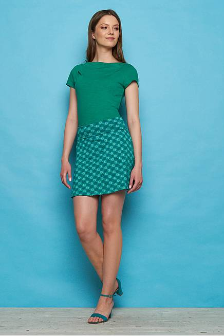 Jersey Skirt CAMILLA green ball