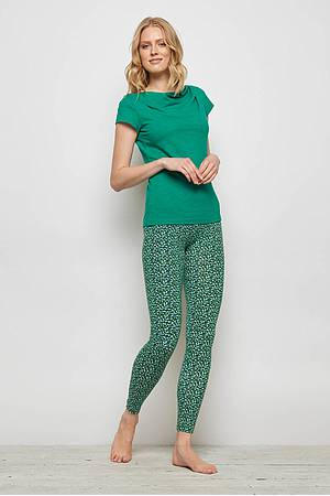 Jersey-Leggings FRANCOA green peas