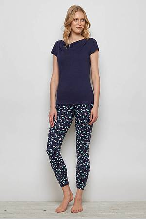 Jersey-Leggings FRANCOA navy ray