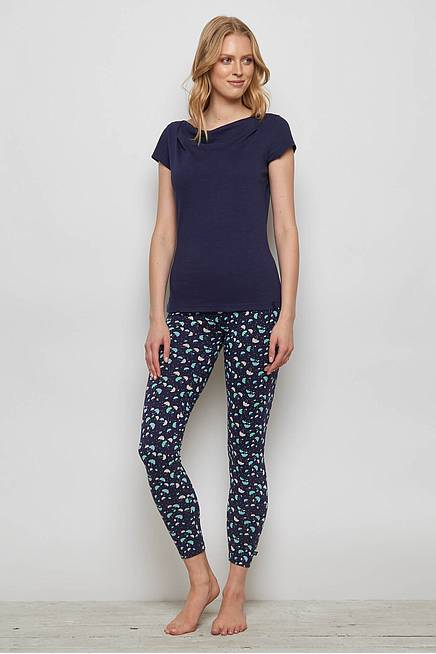Jersey Leggings FRANCOA navy ray