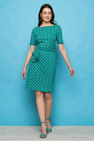 Jersey-Kleid »Enu« green ball