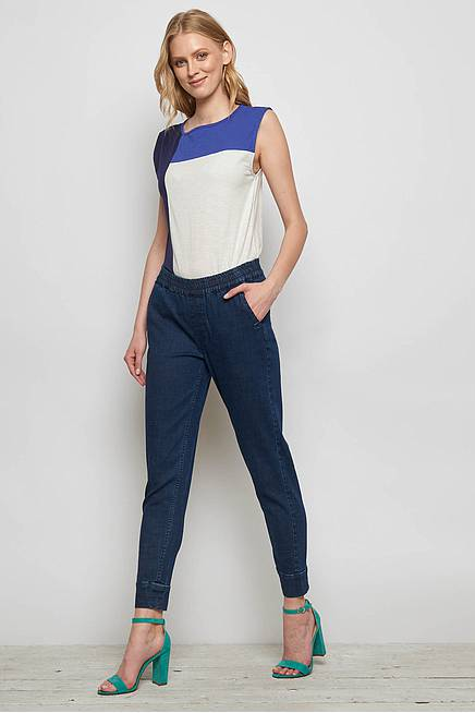 Stretch Denim Hose ADONIA dark indigo