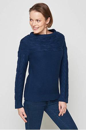 Knitted sweater Unuk navy