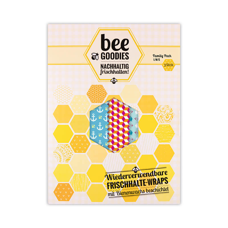 Bienenwachstuch Family Pack one size