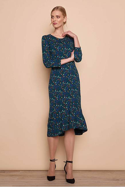 Jersey Dress VIGGA flower