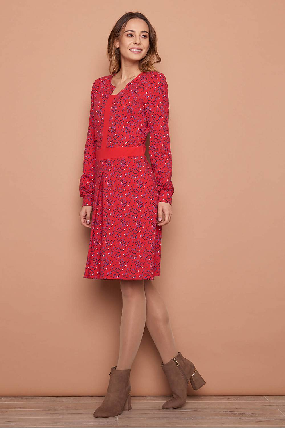 Jersey Kleid LUKA red kite