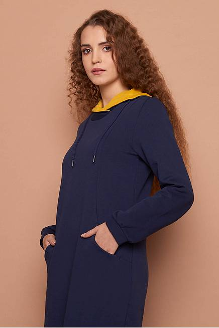 Sweat Dress LIEKE navy