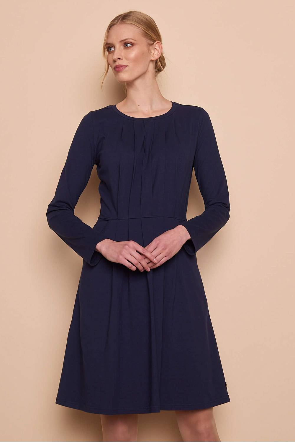Jersey Dress AGDA navy