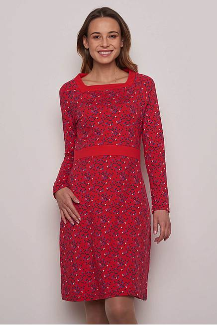 Jerseykleid GERDA red kite