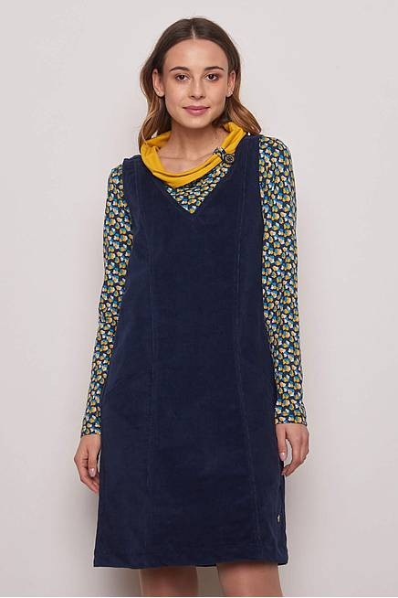 Cord Dress BLOOMA navy