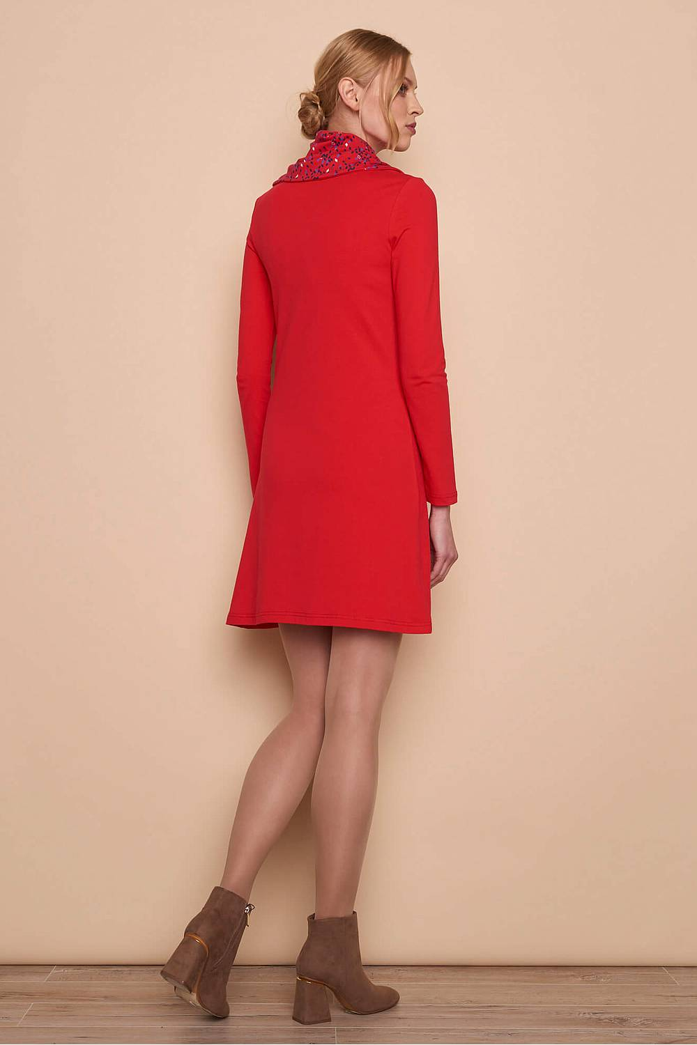 Jerseykleid     red