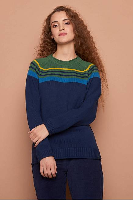 Knitted Sweater ISABELLA  navy