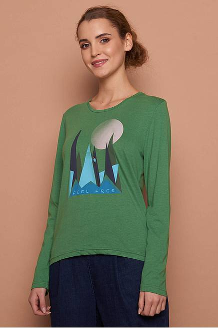 Viskose Shirt  HALLA  green mountain