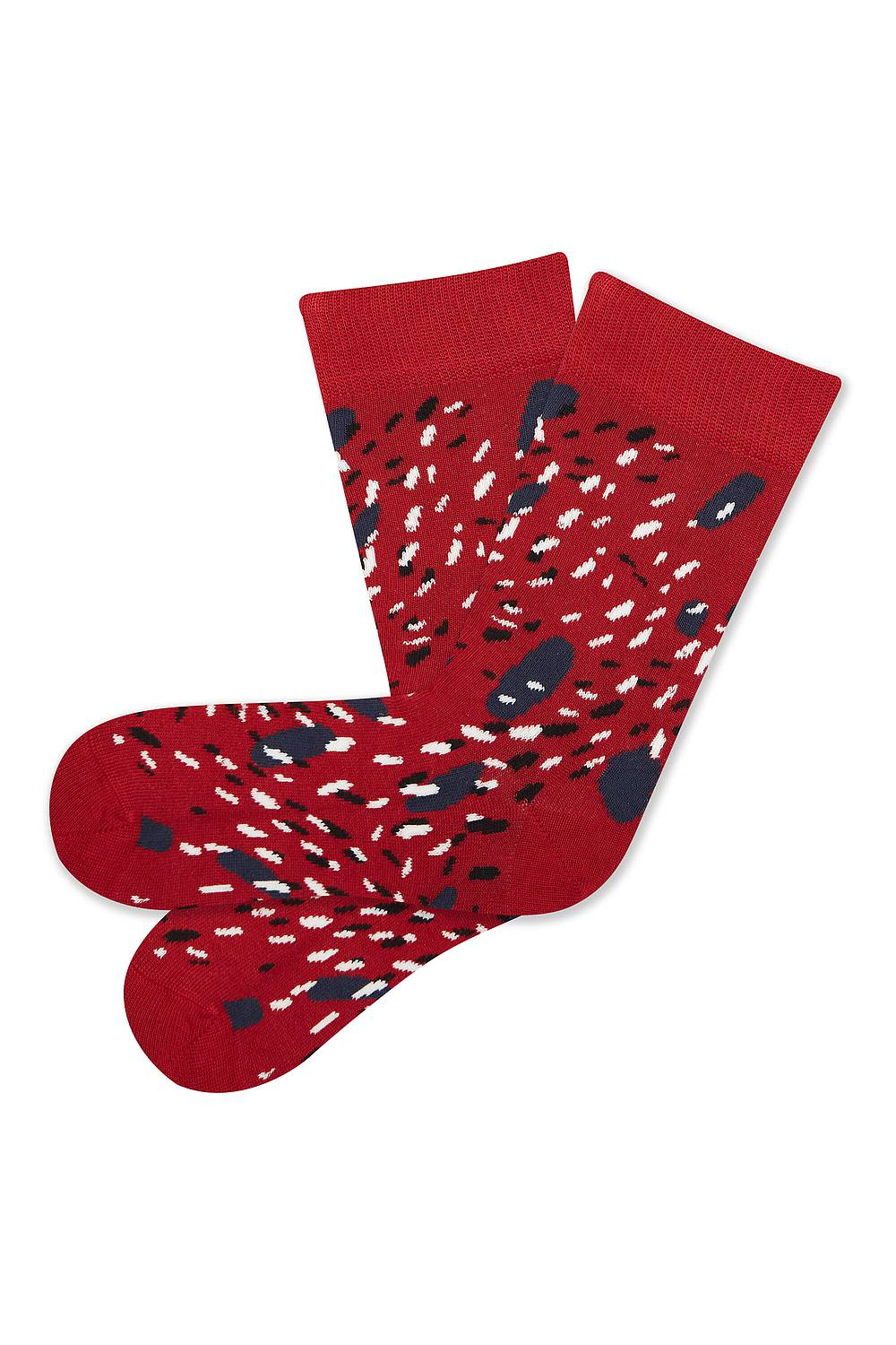 Socken DOTS red