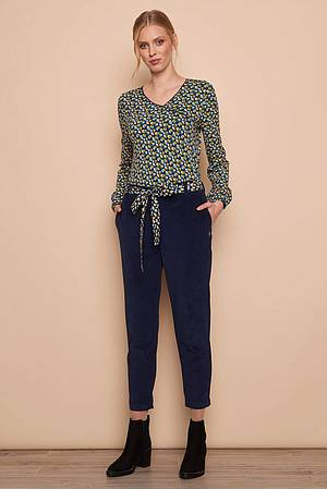 Cord Trousers MARIT navy
