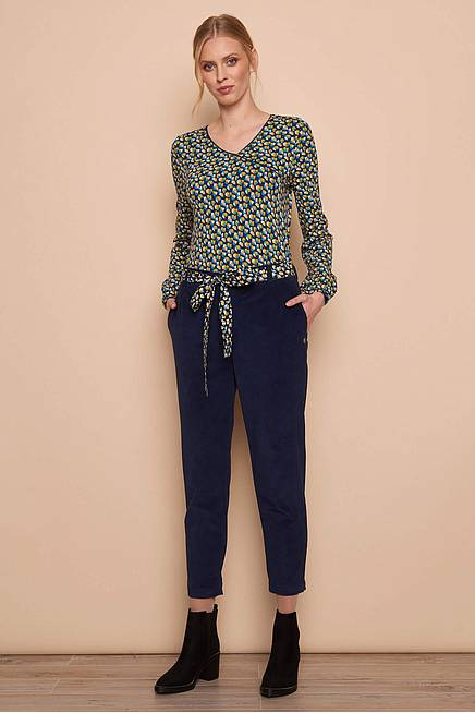 Cord Trousers     navy