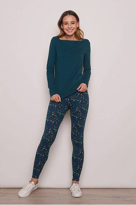 Jersey Leggings MEDUNA flower