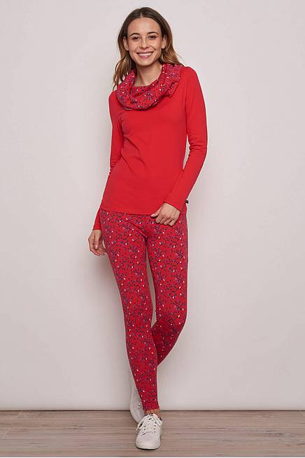 Jersey Leggings     red kite