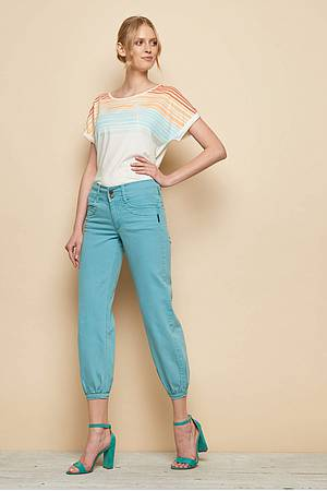 Stretch‑Denim-Jeans »Tilla« nile