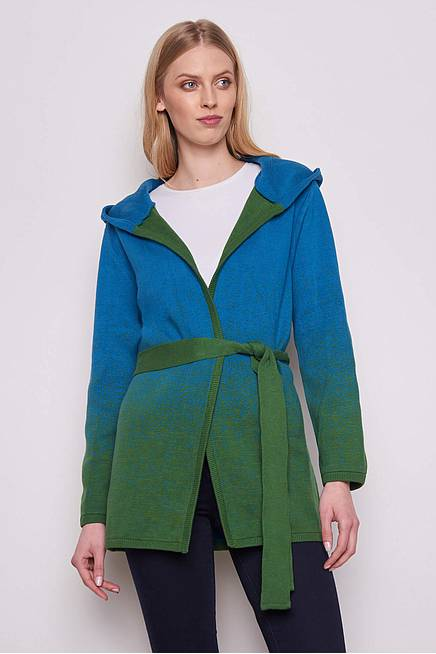 Cardigan ERLA green