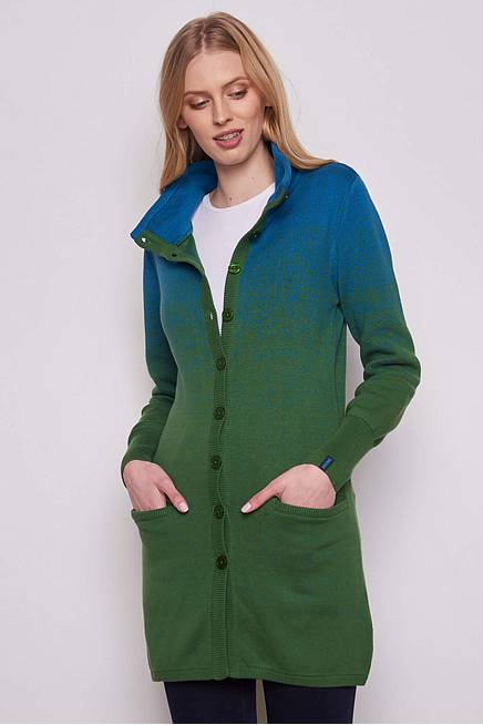 Cardigan ALTAIS green