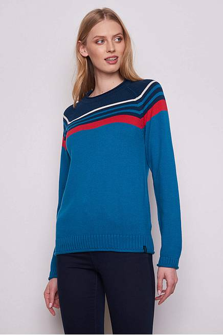 Knitted Sweater ISABELLA  sea