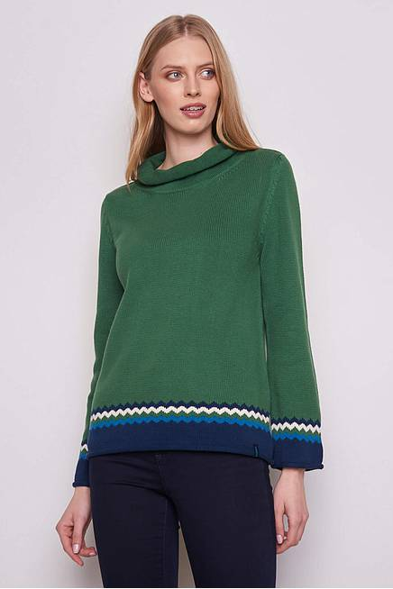 Knitted Sweater THORID green