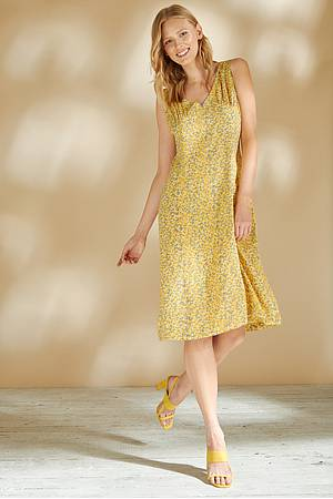 EcoVero™ dress JOSEPHA sunset florecita