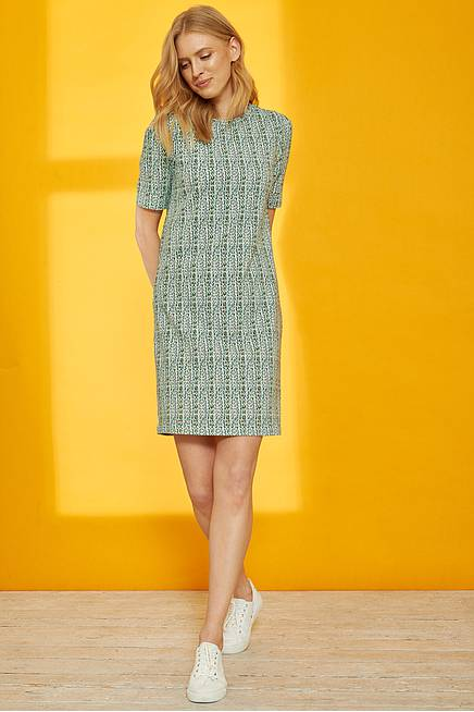 Jersey Kleid ONA green highway
