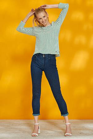 Stretch-Denim-Skinny-Jeans MAHLIA dark indigo