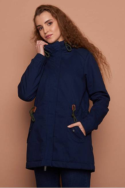 Twill Jacket MADELEINE navy