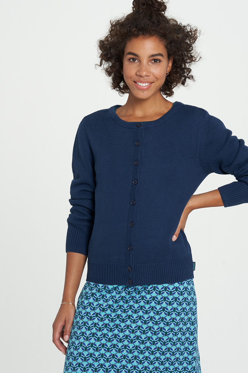 Strickjacke ALMA navy