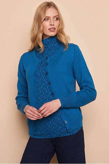 Strickjacke ALMA sea