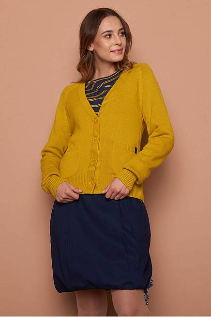 Strickjacke VALKA  curry