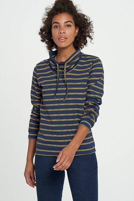 Sweater     navy stripes
