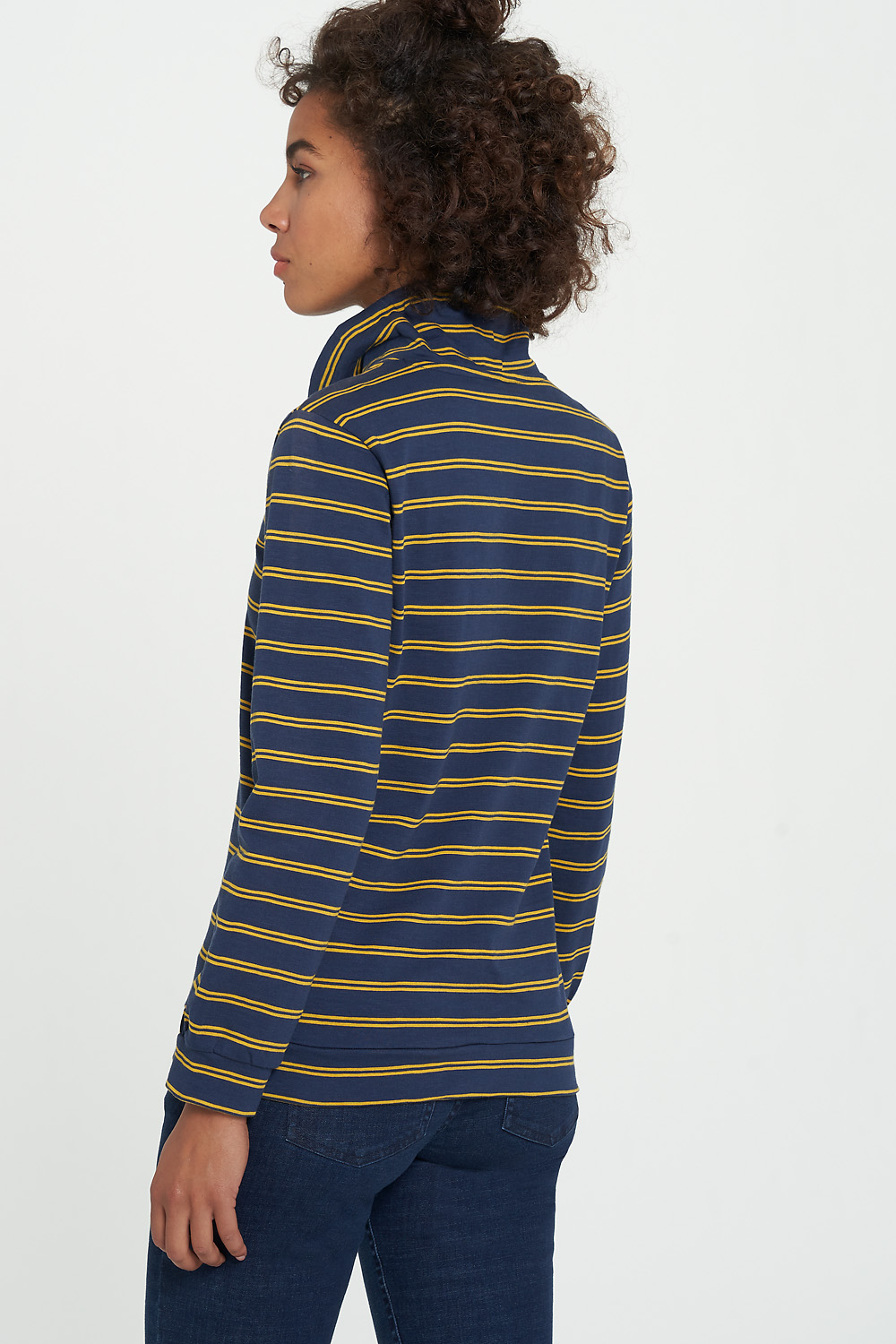 Sweater JARLA navy stripes