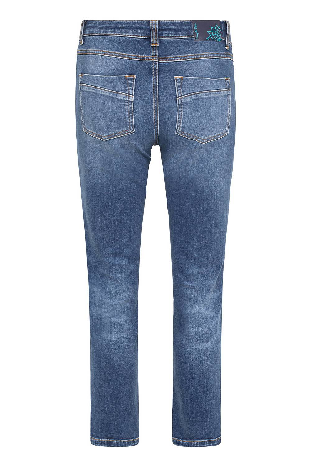 Jeans aus Bio-Denim summer indigo