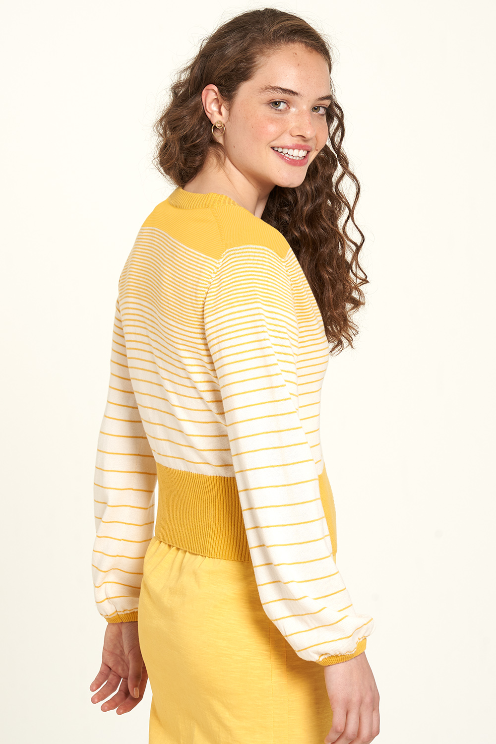 Strickjacke honey stripes