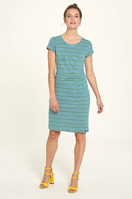 Jersey-Kleid  pool stripes