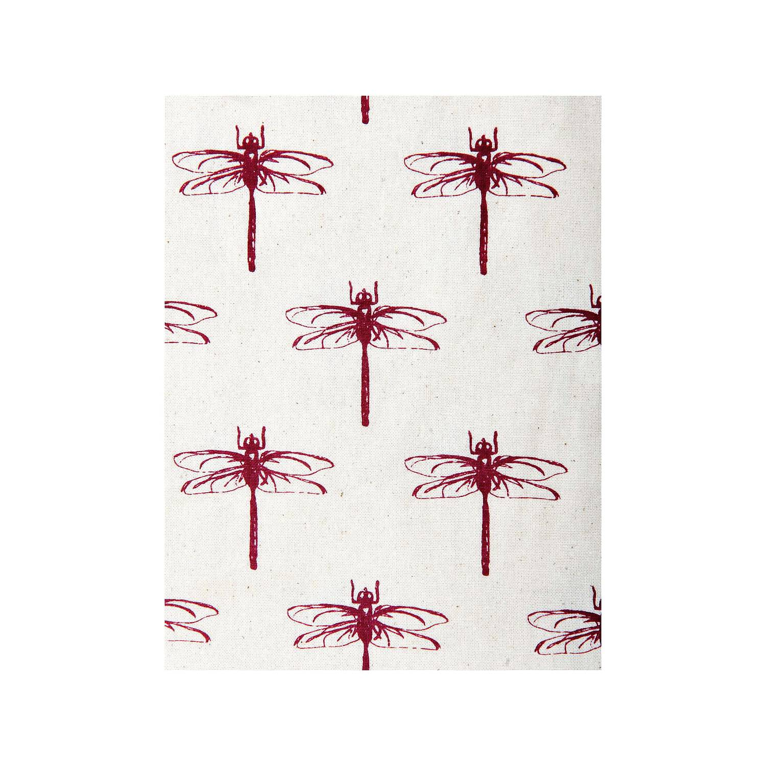 Cloth bag RED DRAGONFLY