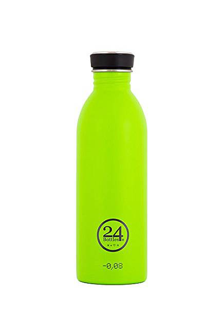 Trinkflasche (24Bottles) lime 0,5 l