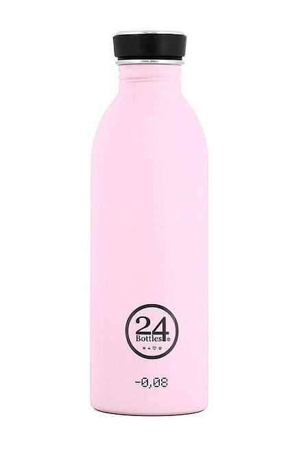 Trinkflasche (24Bottles) candy pink 0,5 l