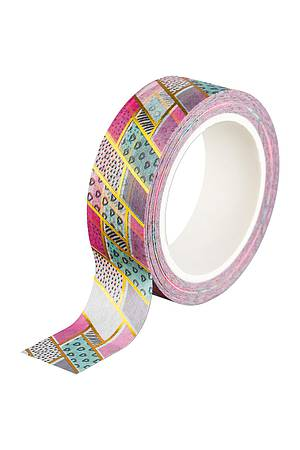 Washi Tape - Patchwork, gold
