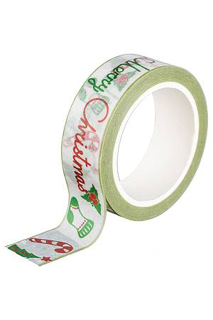 Washi Tape - Merry Christmas