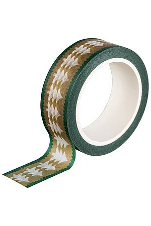 Washi Tape GOLDEN FIR
