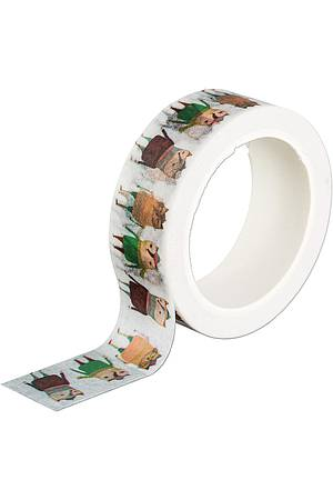 Washi Tape COMIC FOREST ANIMALS